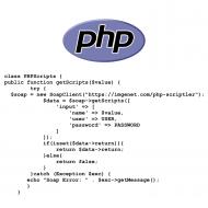 PHP Scriptler