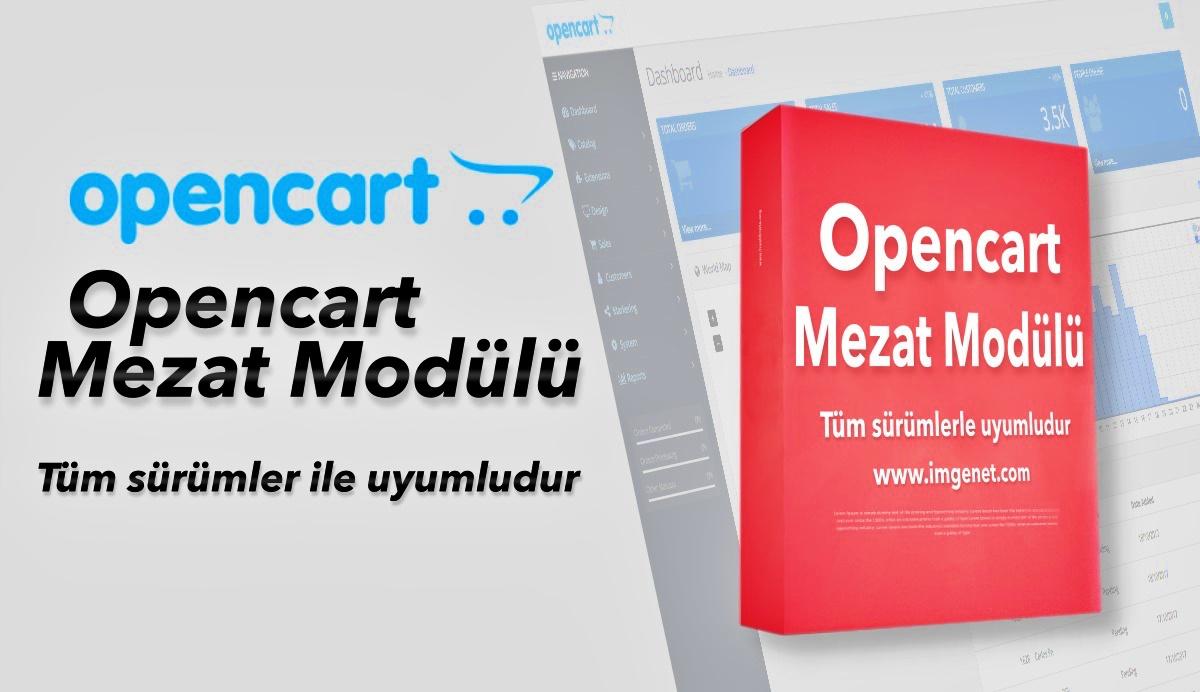Opencart Açık Arttırma Mezat Modülü