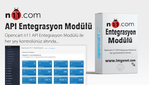 Opencart n11 API Entegrasyon Modülü